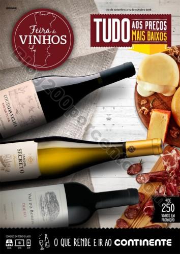 Antevisão Folheto CONTINENTE Feira de vinhos - 20