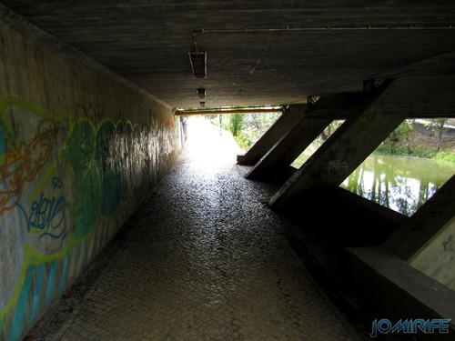 Jardim do Polis Leiria (Centro) - Passagem por baixo da ponte (2) [en] Polis Garden of Leiria, Portugal