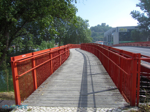 Jardim do Polis Leiria (Oeste) - Ponte vermelha (3) [en] Polis Garden of Leiria, Portugal
