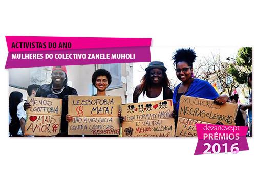 Actisvistas do Ano - Mulheres do Colectivo Zanele