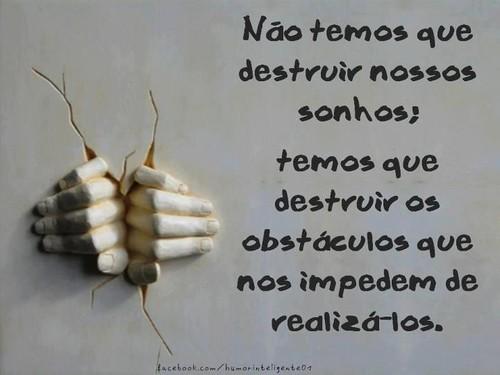 Destruir os sonhos