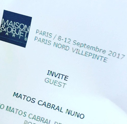 Nuno Matos Cabral invited fo Maison et Objet (2).j