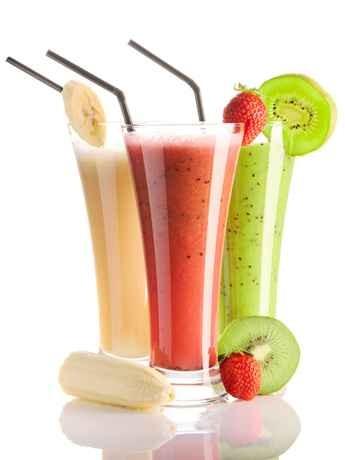Universo dos alimentos como preparar batidos verdes ou de - Batidos de frutas ...