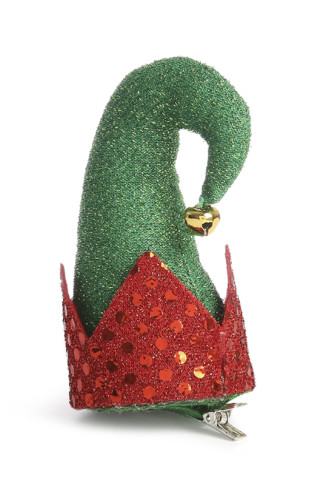 Kimball-7528801-XMAS ELF HAT CLIP Green, ROI D USA