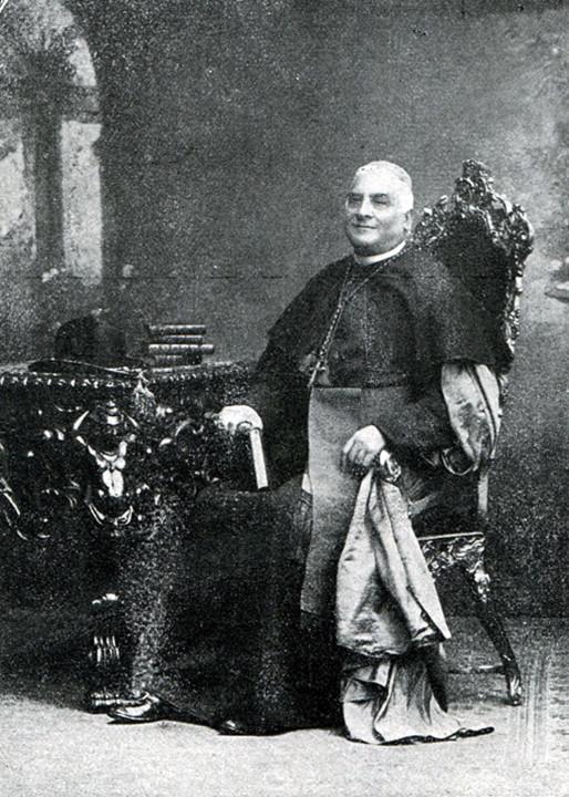 D. M.el Correia de B. Pina. Bispo de C.a e conde d