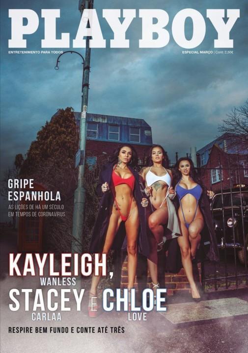 Kayleigh Wanless, Stacey Carlaa & Chloe Love capa.