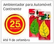 Ambientador para Automóvel Continente