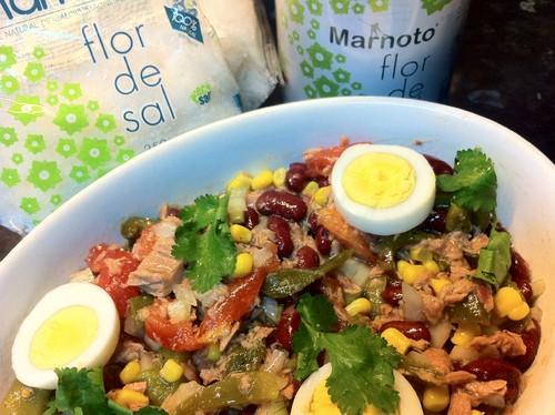 Salada de Atum e Feijão