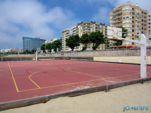 Campos de praia da Figueira da Foz / Buarcos #5 - Basquetebol (3) [en] Game fields on the beach of Figueira da Foz / Buarcos - Basketball