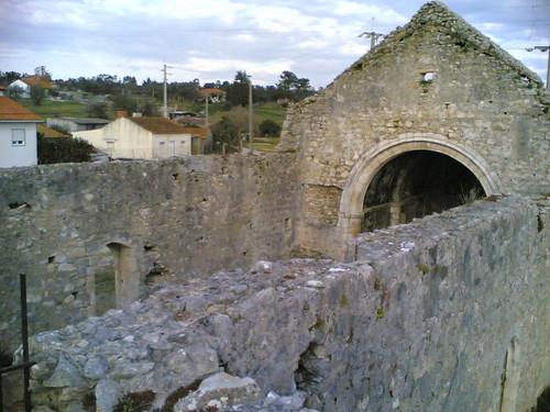 Igreja de Nossa Senhora de Finisterra: Cima