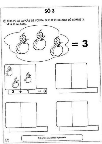 Populares Atividades Lúdicas com cálculos e operações - O Mundo Das Crianças DE56