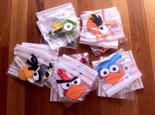Festa Angry Birds - Balões