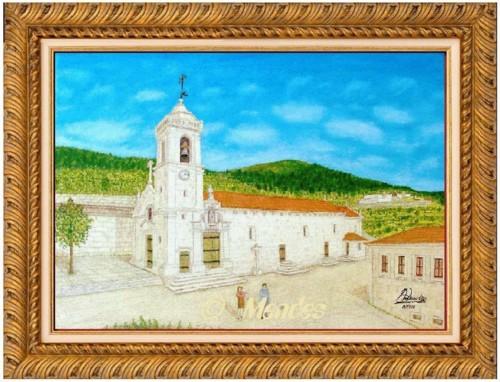 10 - Igreja de São Pedro de Cerva Óleo Sobre Tel