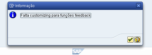 Customizing de feedback