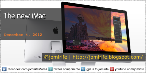 Blog Post: The new Apple 27-inch iMac 2012