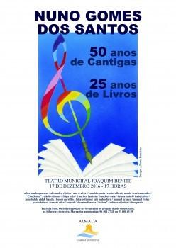 50 anos de cantigas, 25 anos de livros in. rostos.pt/