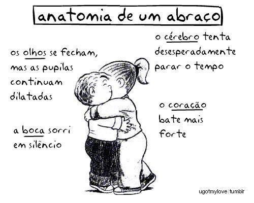 Anatomia de um abraço