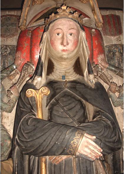 Túmulo da Rainha Santa, pormenor do jacente.png