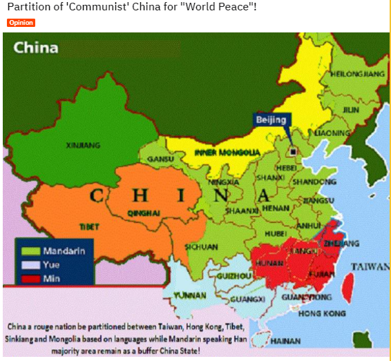 Western Territorial Double-Standards Against China