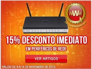 15% de desconto direto | WORTEN | Discos NAS e Redes, até 14 novembro