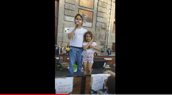 Francisco Fernandes e irmã Marcha Orgulho Porto.J