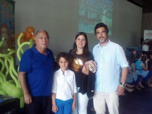 Arnaldo Freitas, Carolina, Vitor e João Caires.jp
