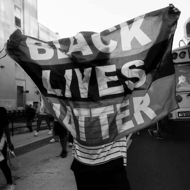 2 The Beautiful. BLM March Washington D.C. 2020 ©