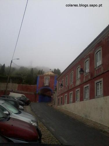 Choveu em Colares, hoje