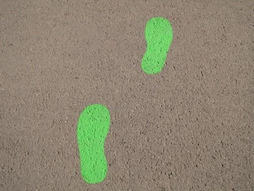 Caminhar, andar a pé