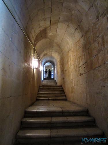 Lisboa - Mosteiro dos Jerónimos (13) Escadas [en] Lisbon - Jeronimos Monastery - Stairs
