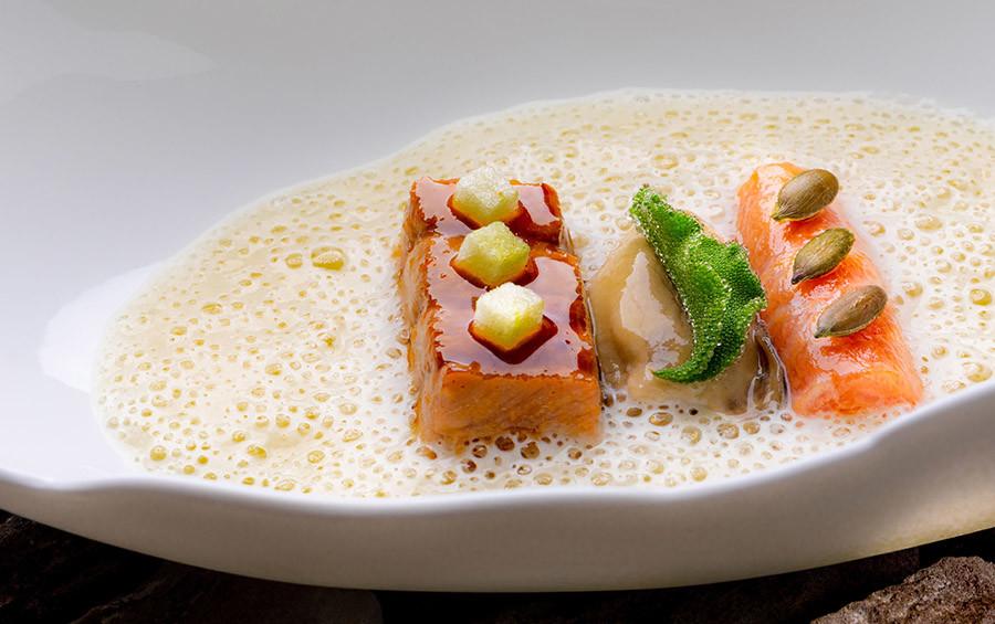 Toro de atum, ostra, maçã verde.jpg