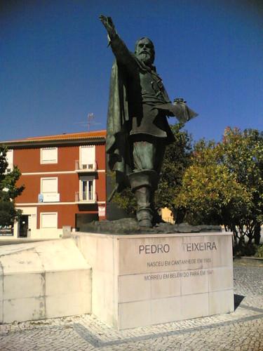 Cantanhede: Estátua Pedro Teixeira