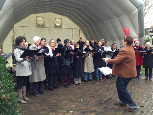 Christmas Carols em Stoke Newington