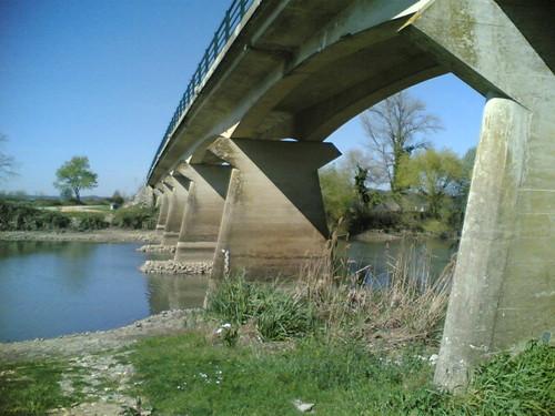 Ponte de Ereira - Por baixo