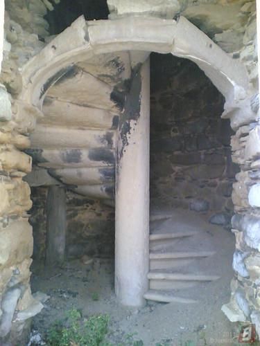 Ruínas do Pharol do Cabo Mondego - Escadas