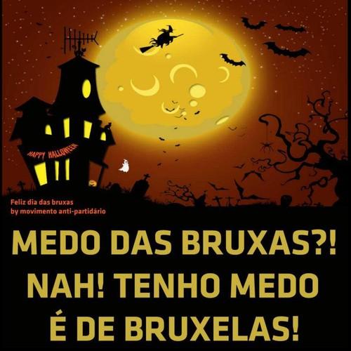 Humor No Facebook Medo Das Bruxas Não Tenho Medo é De Bruxelas