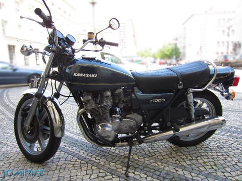 Mota Kawasaki Z1000 vintage