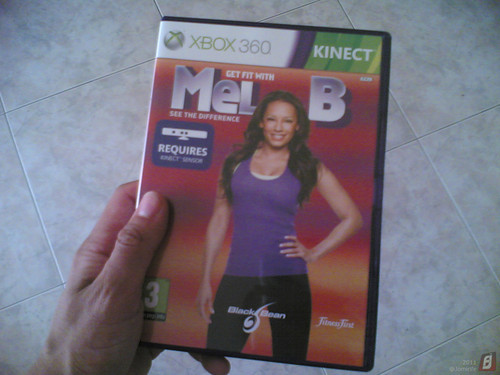 XboX 360 Kinect - Get fit with Mel B (jogo)