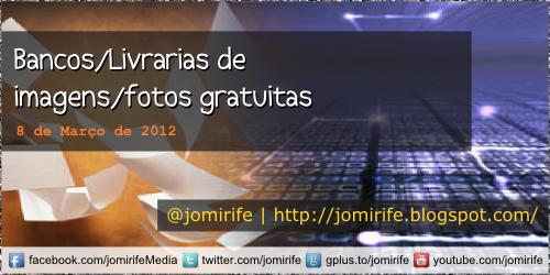 Blog: Bancos/Livrarias de imagens/fotos gratuitas