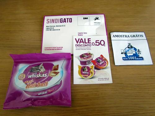 Amostra Whiskas Portugal- snacks [ Recebido ] 16924924_qSAZg