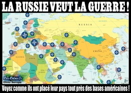 Mapa bases militares NATO