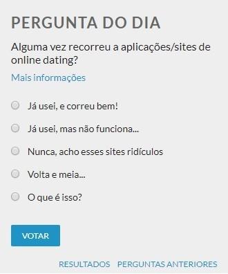 Responder perguntas online dating