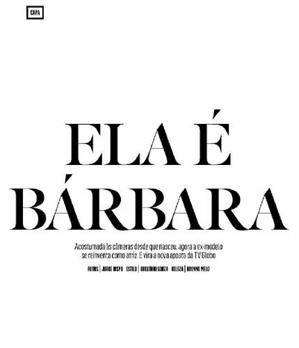 Bárbara Evans 3