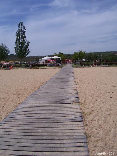 Praia fluvial do Azibo - Passadeira