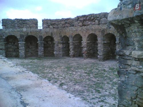 Buarcos - Interior da muralha velha (Fig. Foz)