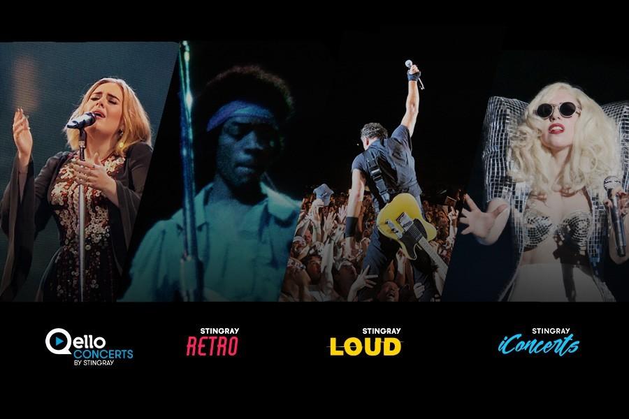 Stingray premium, matar saudades dos concertos ao vivo
