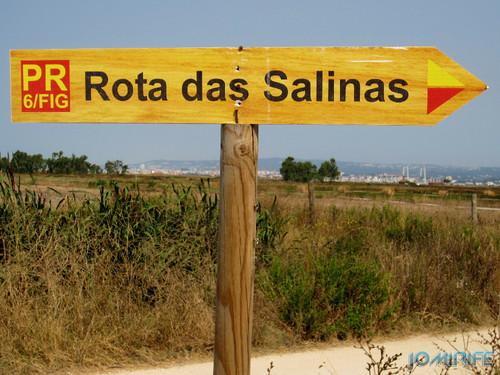 Salinas da Figueira da Foz (4) Placa da Rota das Salinas [en] Salt fields of Figueira da Foz in Portugal