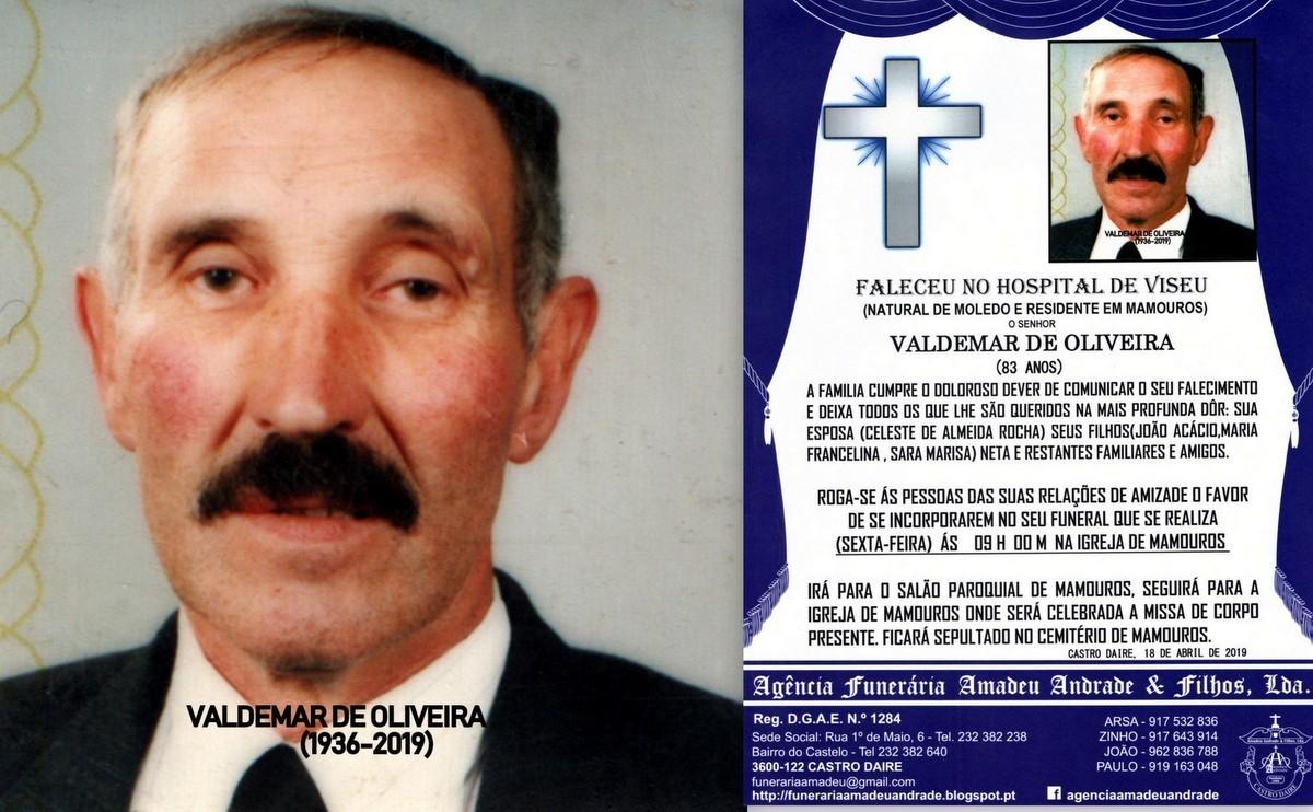 FOTO RIP HORA DE VALDEMAR DE OLIVEIRA-83 ANOS (MAM