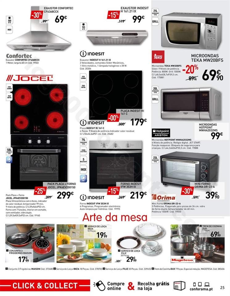 Antevisão Folheto CONFORAMA promoções de 11 out
