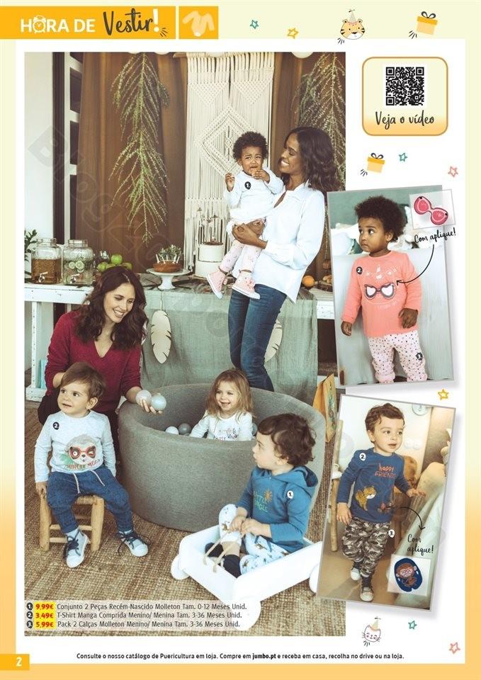 Antevisão Folheto JUMBO Feira do Bebé promoçõe